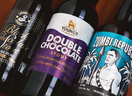 Cerveja e chocolate? Vale a pena experimentar!