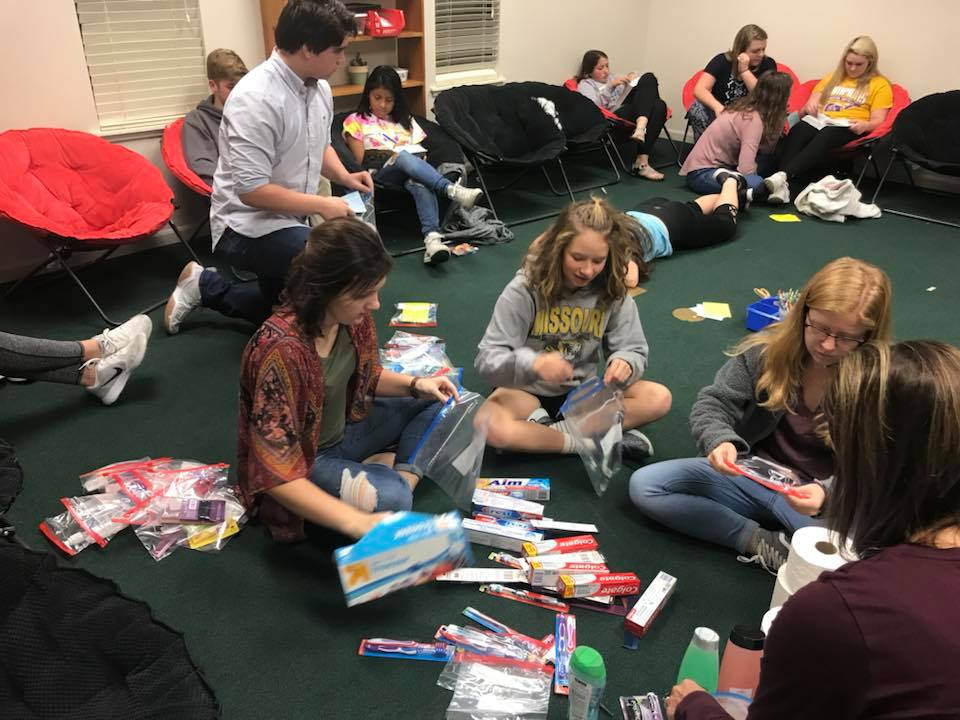 youth blessing bags for gods cupboard.jp