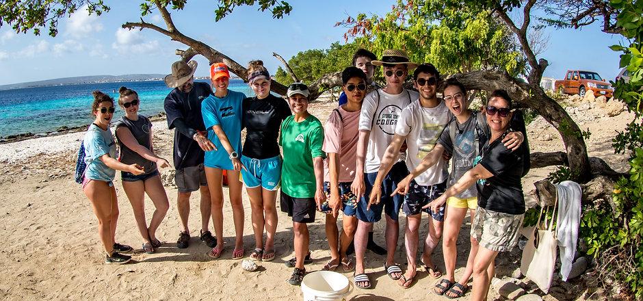 Bonaire Beach Clean Up - Photo by Amy Weir