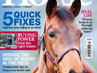 Think Ahead Campaign Featured in Horse Magazine