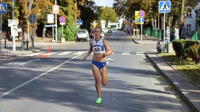 Самая быстрая женщина в беге на дистанции полумарафон