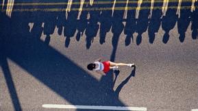 Самая быстрая женщина в беге на дистанции марафон
