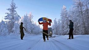 Самый холодный ультрамарафон на дистанцию в 50 км