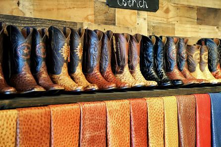 Men's Ostrich Boots