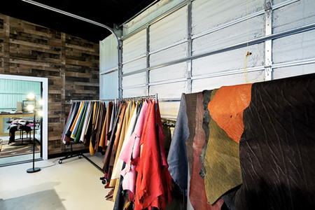 Various leathers