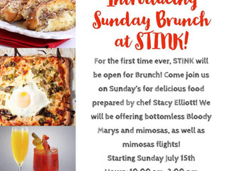 Sunday Brunch Beginning July 15th!