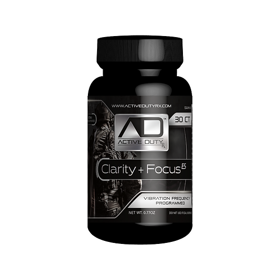 Active Duty RX Clarity + Focus Extra Strength