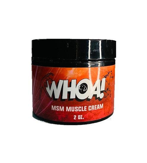 Whoa Muscle Cream
