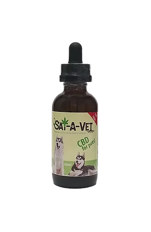 Sat-A-Vet Pet Oral Tincture / 250 mg  / 500 mg