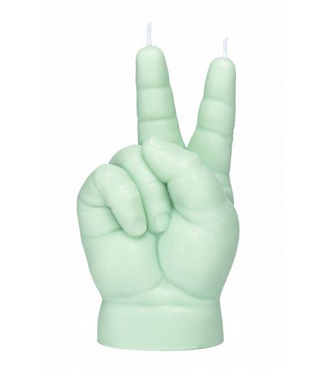 Bougie Baby Peace vert