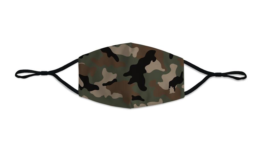 Masque Homme Army Camo kaki