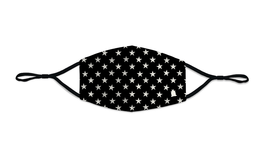 Masque enfant Boo Stars noir
