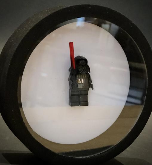 Cadre Vidi customisé avec figurine