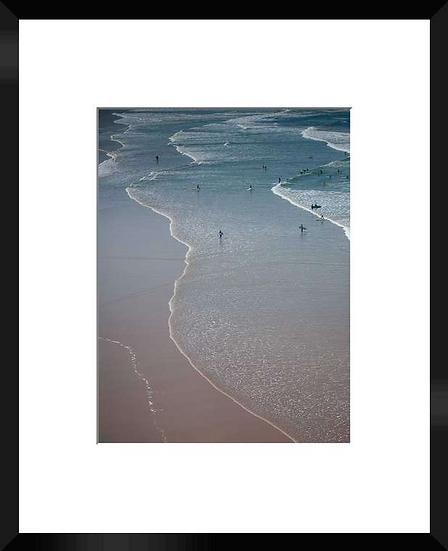 """Photo encadrée """"The Beach"""" 50x40"""