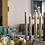 Thumbnail: Bougeoir de table Still argent brillant petit modèle