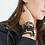 Thumbnail: Bracelet Divine 4mm Etoile noire