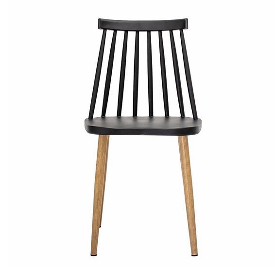 Set 2 chaises Bajo noires