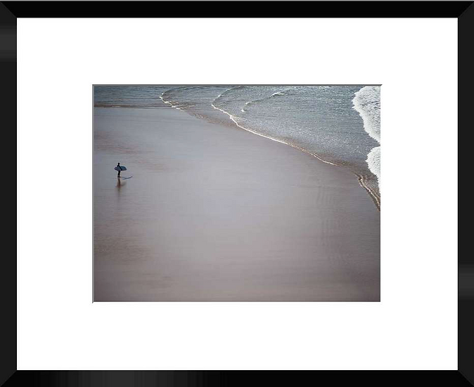 "Photo encadrée ""The Beach"" 50x40"