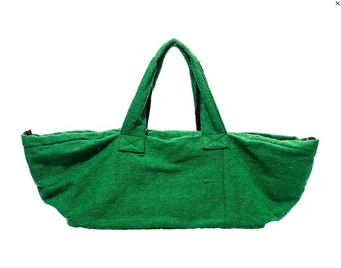 Sac coton recyclé vert
