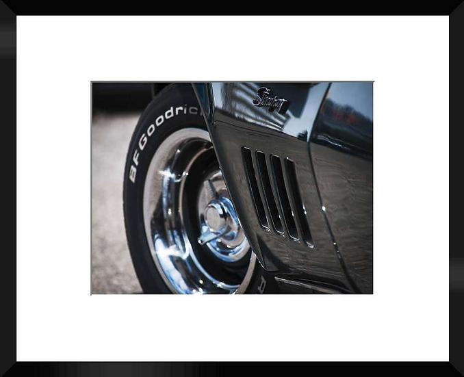 "Photo encadrée ""Nickel Chrome"" 50x40"