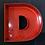 """Thumbnail: Lettre """"D"""" rouge"""