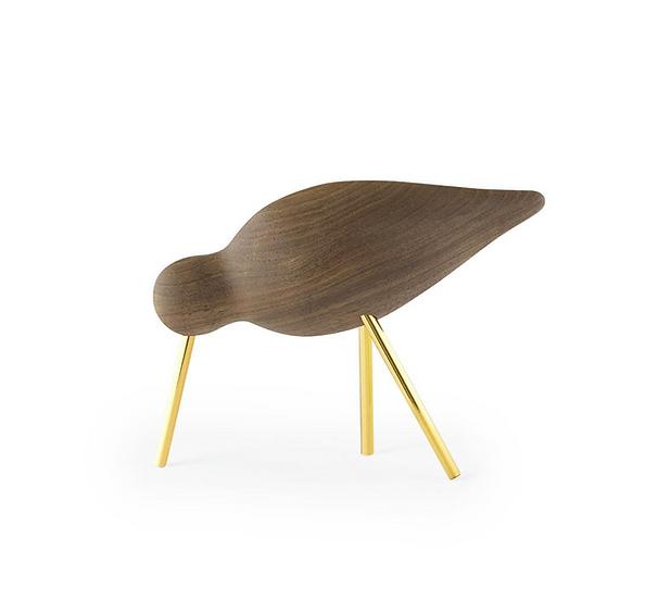 Shorebird noyer / laiton moyen modèle