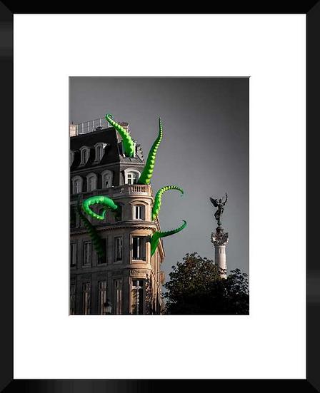 """Photo encadrée """"LaChose"""" 50x40"""