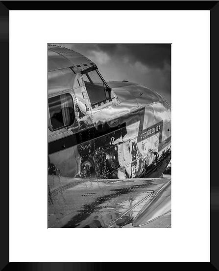 """Photo encadrée """"DC3"""" 50x40"""