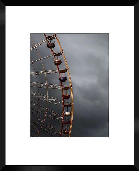 "Photo encadrée ""La Grande roue"" 50x40"