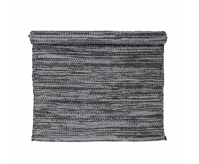 Tapis Outdoor Cacilda 90x60cm gris