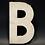 "Thumbnail: Lettre ""B"" blanc"