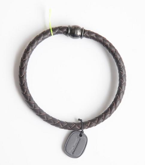 Bracelet Animal médaille noir