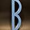 "Thumbnail: Lettre ""B"" bleue"