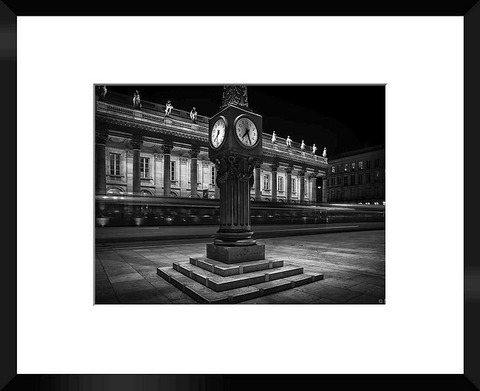 "Photo encadrée ""Le Grand Théâtre"" 50x40"