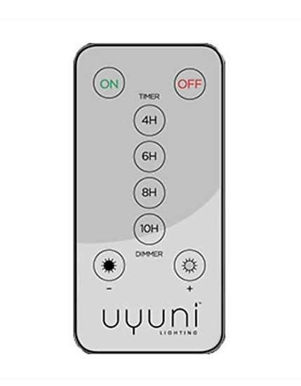 Uyuni télécommande pour bougies Led