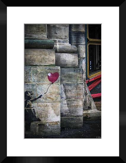 "Photo encadrée ""Banksy in London"" 30x40"