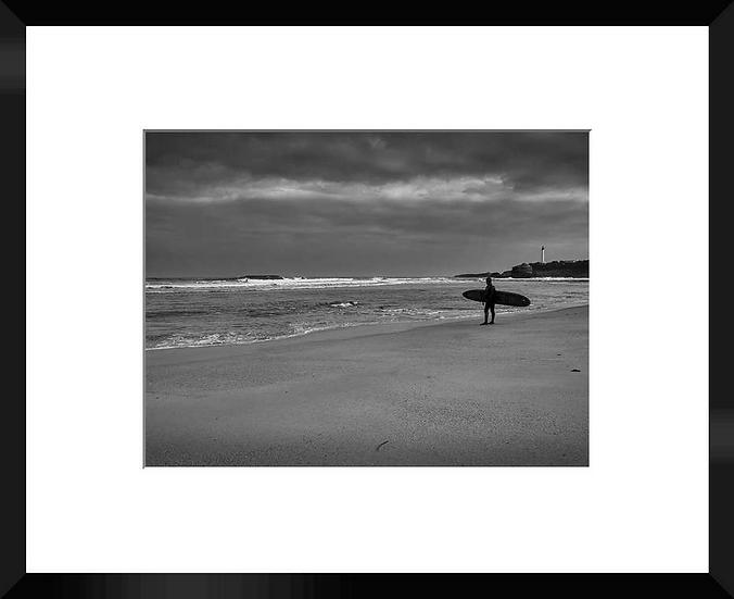"""Photo encadrée """"The Beach"""""""