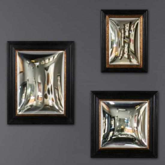 Set 3 miroirs Sorcière Rectangle