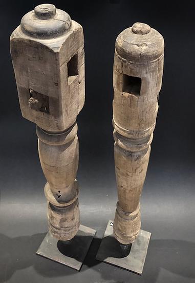 Sculpture bois recyclé