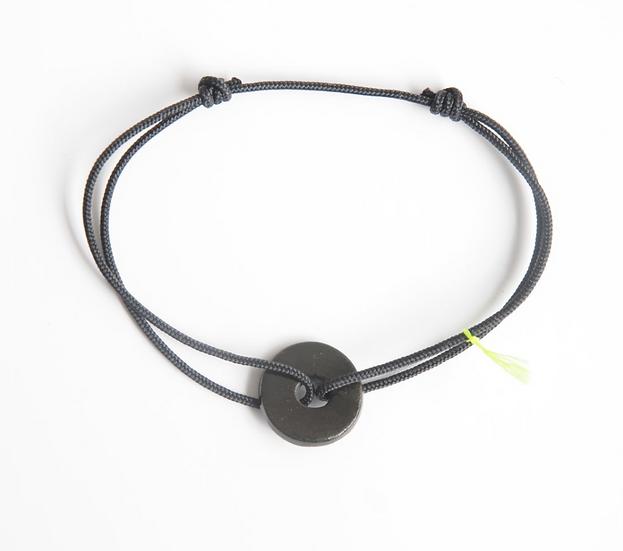 Bracelet cordon Hô noir