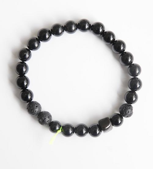 Bracelet kube noir