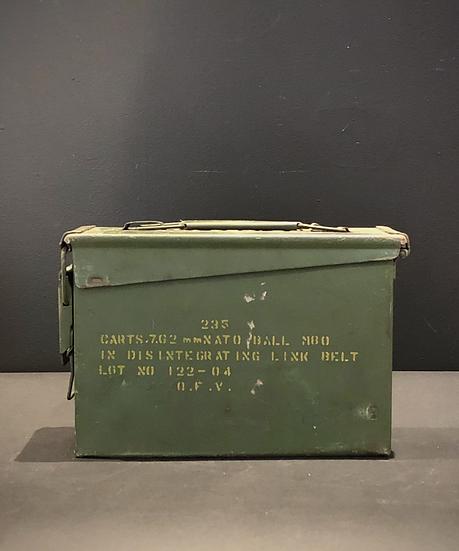Boite munition vintage