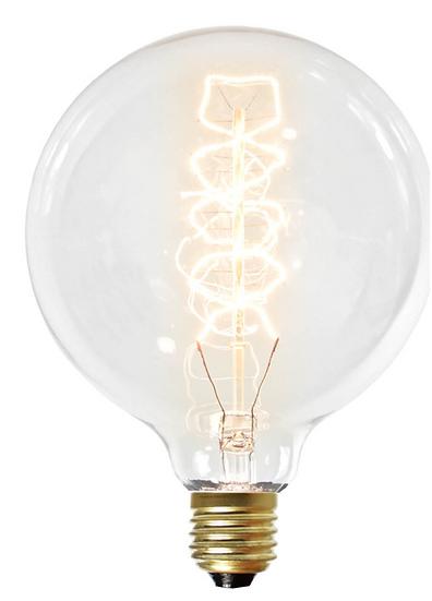 Ampoule Retro globe125mm