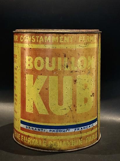 Boite Kub vintage