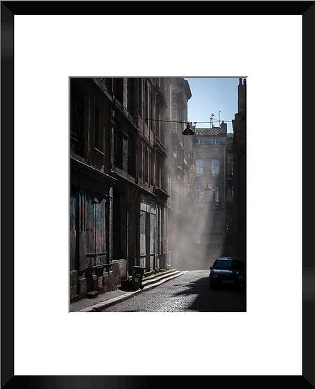 """Photo encadrée """"Rue des Herbes"""" 50x40"""