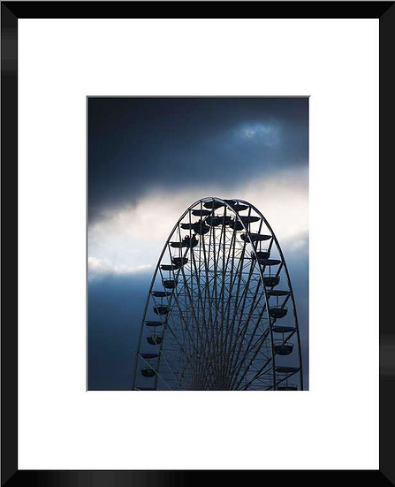 "Photo encadrée ""La Grande Roue"" 50x40"