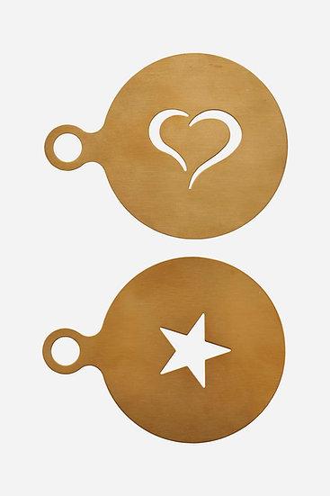 Pochoir Coffee Gold