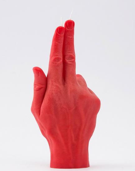 Bougie doigt Pistolet red