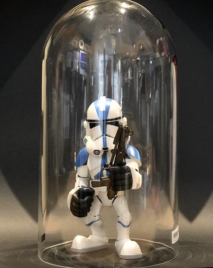 Figurine Star Wars vintage sous globe
