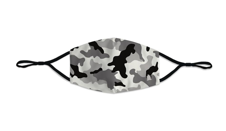 Masque Homme Army Camo gris